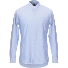 《期間限定 セール開催中》MAURO GRIFONI メンズ シャツ ブルー 41 コットン 100%
