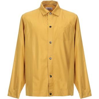 《期間限定セール開催中!》LIBERTINE-LIBERTINE メンズ シャツ オークル L ポリエステル 100%