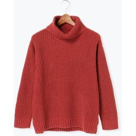 ニット・セーター - Lugnoncure モールタートルプルオーバー