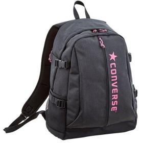 コンバース(CONVERSE) 9S Dバック ブラック/ピンク C1904012 1961 デイパック バックパック 通学 スポーツバッグ リュック 部活