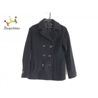 メイソングレイ MAYSON GREY Pコート サイズ2 M レディース 黒 冬物 値下げ 20190401