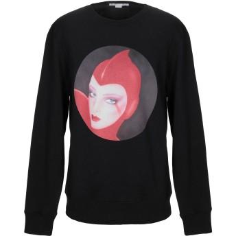 《期間限定セール開催中!》STELLA McCARTNEY MEN メンズ スウェットシャツ ブラック S コットン 93% / ポリウレタン 7%