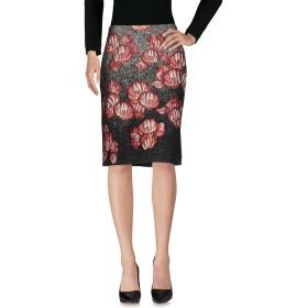 《期間限定セール開催中!》ALBERTA FERRETTI レディース ひざ丈スカート ボルドー 40 39% アクリル 33% ポリエステル 23% ウール 5% 指定外繊維