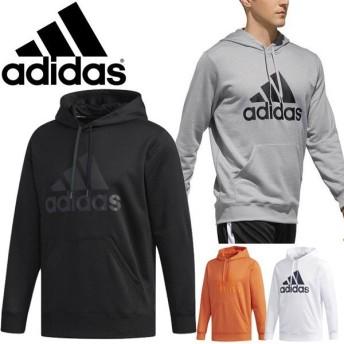 スウェット パーカー メンズ アディダス adidas M ESS ライトスウェット プルオーバー スポーツウェア 男性 スエット トレーナー ビッグロゴ カジュアル/FAO98-