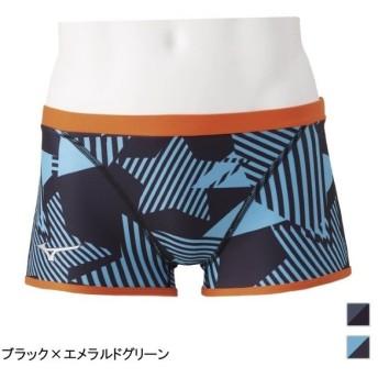 ミズノ 池江璃花子選手監修 RIKAKO IKEE COLLECTION メンズ 水泳 競泳水着 エクサースーツ ショートスパッツ (N2MB9065) MIZUNO