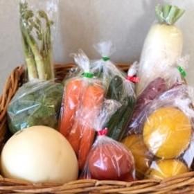 大師の里のとれたて旬の野菜と果物の詰め合わせ