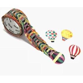 1枚ずつめくれるマスキングテープ 気球