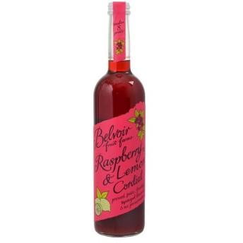 ビーバーフルーツファーム コーディアル ラズベリー&レモン 500ml ユーキトレーディング 代引不可