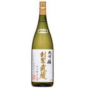 剣聖武蔵 大吟醸 1.8L