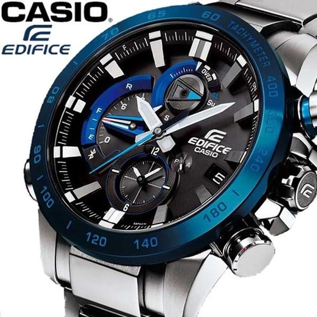 1d20026fcd エントリーでP10倍 EDIFICE エディフィス CASIO カシオ モバイルリンク機能 メンズ 腕時計 日常生活防水