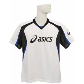 (アシックス) ASICS/プラクティスシャツ半袖11SS/ホワイトXブラック/XS601B-0190