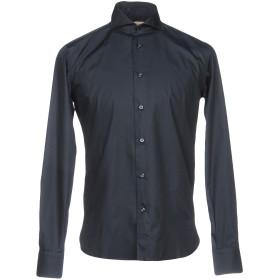 《セール開催中》STELL BAYREM メンズ シャツ ダークブルー 39 コットン 100%