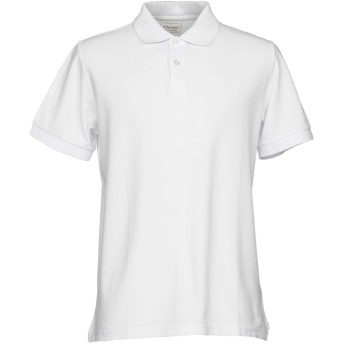 《セール開催中》CHARAPA メンズ ポロシャツ ホワイト L コットン 100%