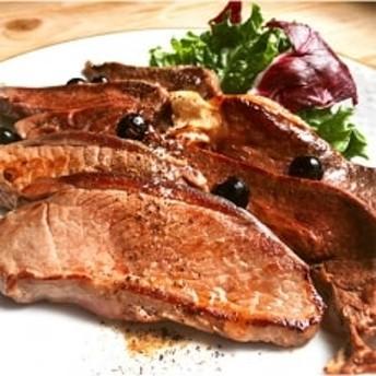 熟成仔鹿と熟成ハバキ肉 薄切りステーキ肉セット