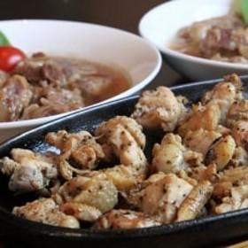 霧島赤鶏香味焼き 豚軟骨煮込みセット