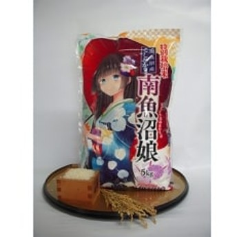 【平成30年産米】 特別栽培米南魚沼娘5kg