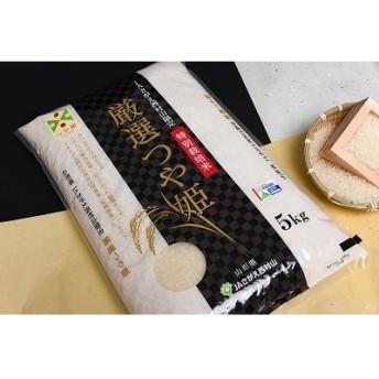 【特別栽培米】厳選つや姫5kg 010-C01