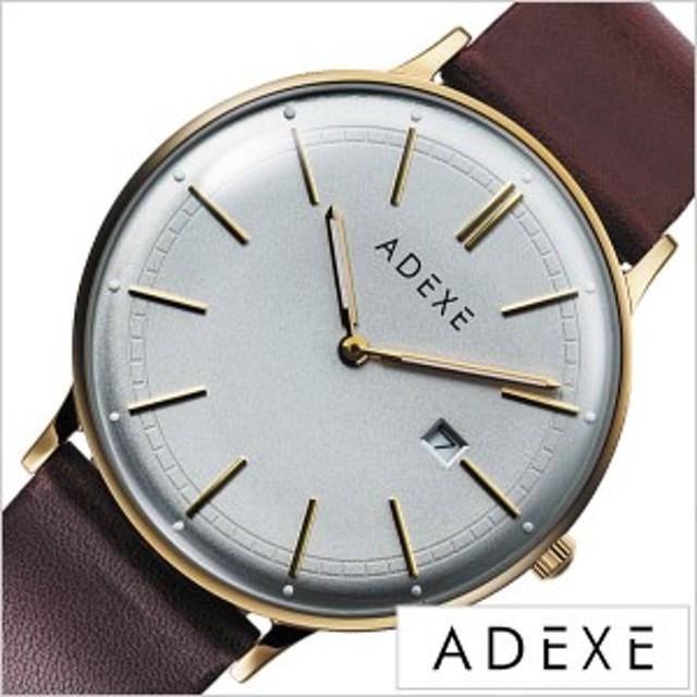 new product 8ebcc 5d7db ADEXE 腕時計 アデクス 時計 グランデ GRANDE メンズ 防水 男性 ...