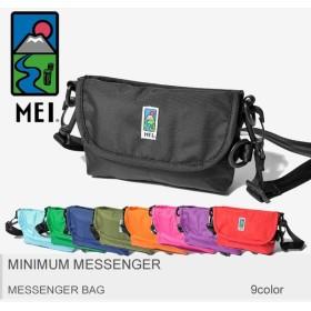 【メール便可】MEI エムイーアイ メッセンジャーバッグ ミニマムメッセンジャー 183303 メンズ レディース バッグ