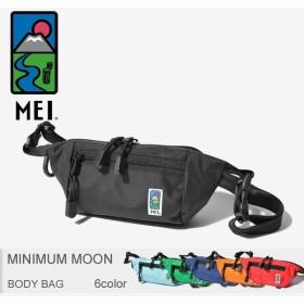 【メール便可】MEI エムイーアイ ボディバッグ ミニマムムーン MINIMUM MOON 183301 メンズ レディース バッグ