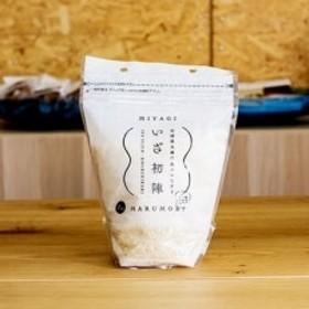 宮城県丸森町産コシヒカリ「いざ初陣」1kg×3袋