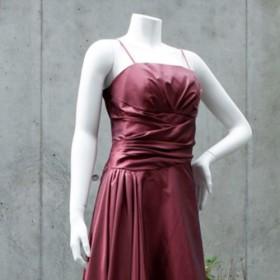 演奏会・発表会に / シンプルなのに印象的な存在感ドレスは声楽・ソロ・伴奏もOK!(モードレッド) 1-0179-6