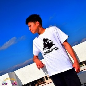 TOKUNOSHIMA発ブランド OBORA Tシャツ 【GORILLA ROCK】