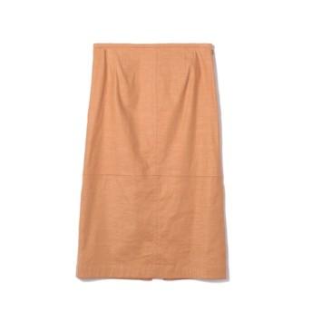 ESTNATION / リネンタイトスカート ピンク/38(エストネーション)◆レディース スカート