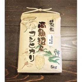 【高級】南魚沼しおざわ産こしひかり5kg(玄米)