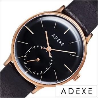 ADEXE 腕時計 アデクス 時計 プチ PETITE レディース 防水 女性 大学生 ブラック 1870B-06 20代 30代 40代
