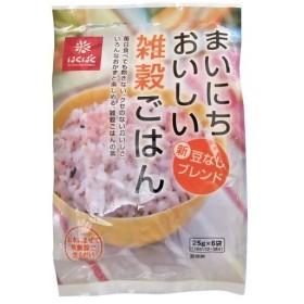 はくばく まいにちおいしい雑穀ごはん 25g×6袋 代引不可