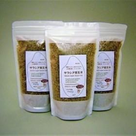 サラシアと緑茶と寒天とメープルシロップで包んだ「サラシア超玄米」