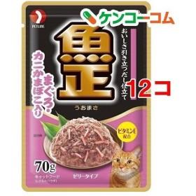 キャネット 魚正パウチ まぐろ・カニかまぼこ入り ( 70g12コセット )/ キャネット