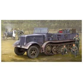 12t重砲兵ハーフトラック Sd.kfz.8/DB9 トランペッター 09538 1/35 ドイツ軍 プラモデル (ZS57167)