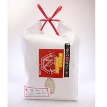 【昔ながらの純粋なコシヒカリ】はざ掛天日干し 1.8kg(精米)