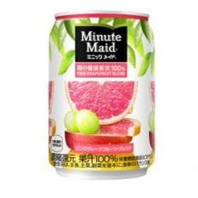 ミニッツメイド 朝の健康果実 ピンクグレープフルーツ・ブレンド280g缶(24本入)×2ケース