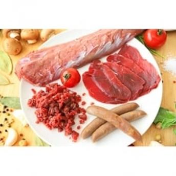 【高たんぱく・低カロリー!】鹿肉よくばりセット※レシピ付き