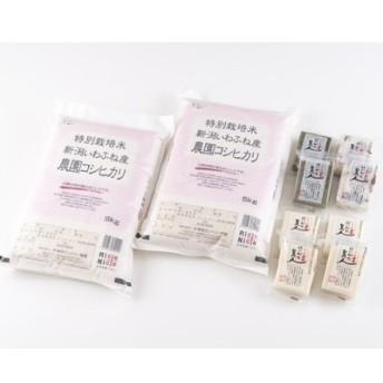 平成30年産 特別栽培米岩船産コシヒカリ10kg・杵つき餅セットC112