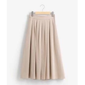le.coeur blanc / ルクールブラン カラータックギャザースカート
