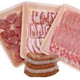 茨城県産豚肉3種類各500g & ソーセージ 計4点セット