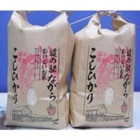 [平成30年産]地元特産品 ながらのコシヒカリ 3kg×2袋(精米)
