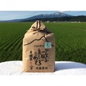平成30年産有機栽培米コシヒカリ 精米3kg