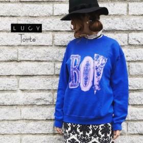 BOYロゴ スウェット【ROYAL BLUE】