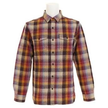ALTAMONT GARTH 長袖ウーブンシャツ AT18HU03 OXBLOOD (Men's)