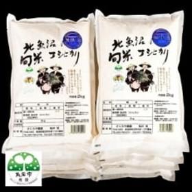 【平成30年産】北魚沼の旬米コシヒカリ【無洗米】20kg(2kg袋×10)