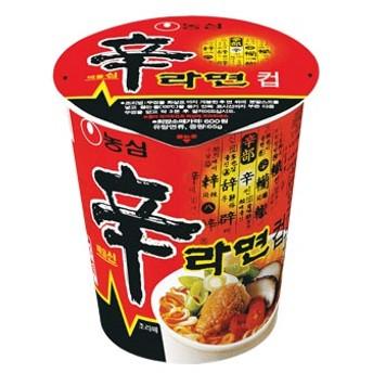 『農心』辛ラーメン カップ麺・小|シンラーメン カップ麺 シンラーメン ノンシム NONG SHIM 韓国ラーメン インスタントラーメン