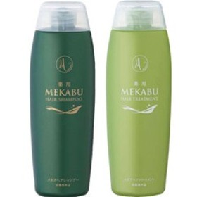 【医薬部外品】 薬用 メカブヘアシャンプー&メカブヘアトリートメントセット 各300ml