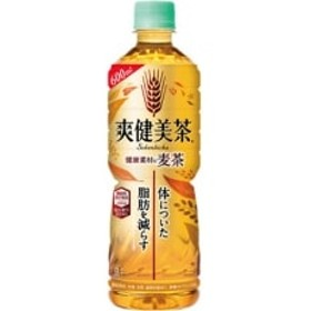 爽健美茶 健康素材の麦茶 600mlPET ×24本