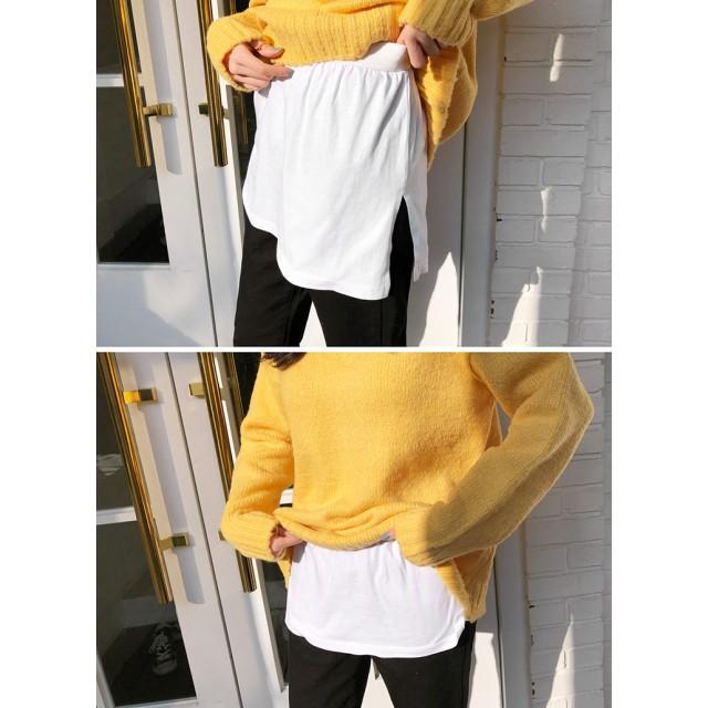 スリットレイヤードTシャツ・全2色・t51250