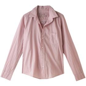 Frank&Eileen フランク&アイリーン BARRY ライトポプリンシャツ ピンク